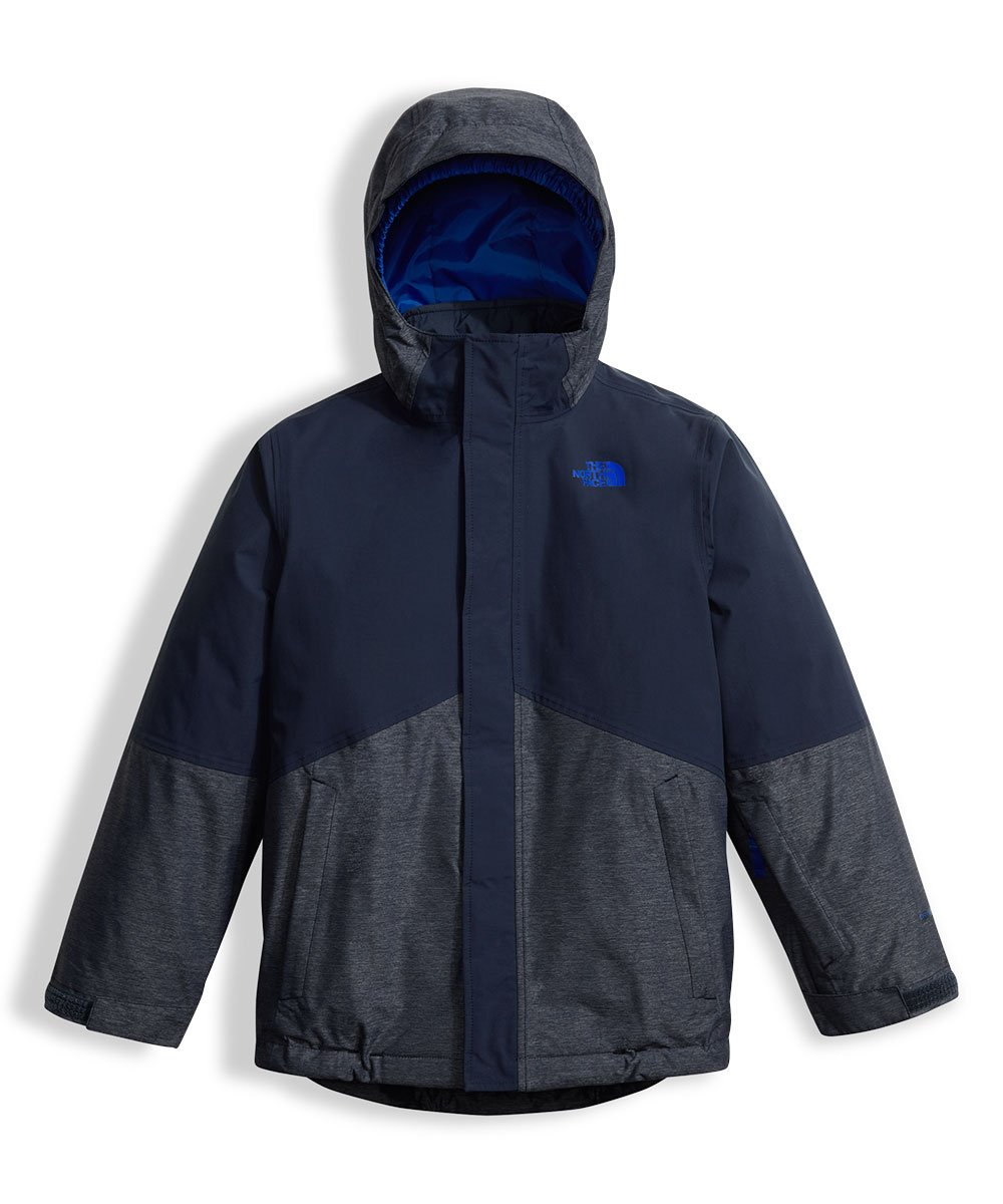 The North Face Big Boys' Boundary Triclimate Jacket - cosmic blue, l/14-16 by The North Face