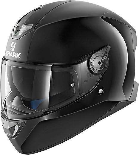 Shark Casco Moto Skwal 2 Dual Black Wht LED BLK, Negro, ...