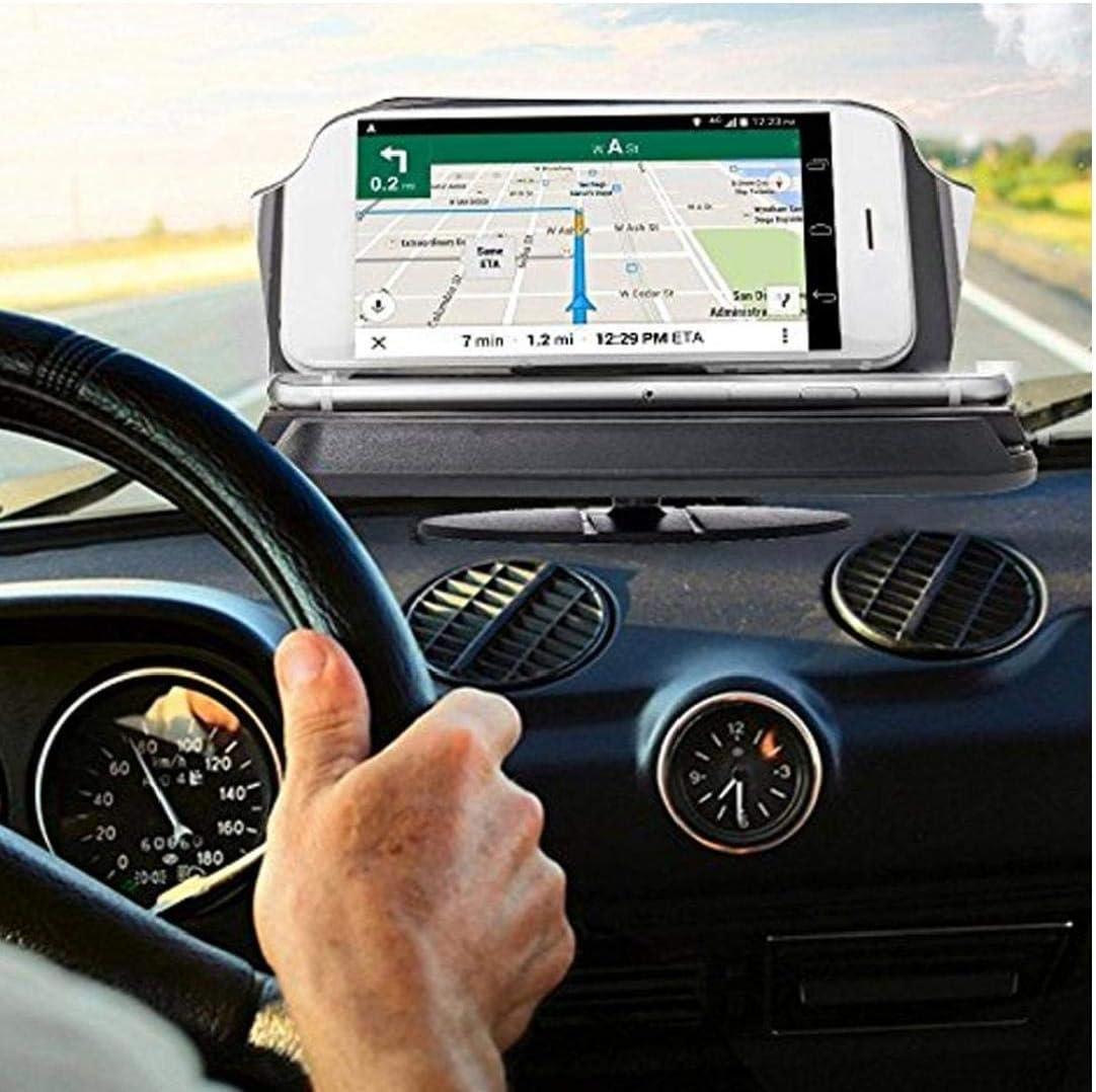 OMMO LEBEINDR Auto Hud Head Up Display Phone Holder Di Navigazione Gps Staffa Di Montaggio Cellulare Staffa Dellautomobile Hud Proiettore
