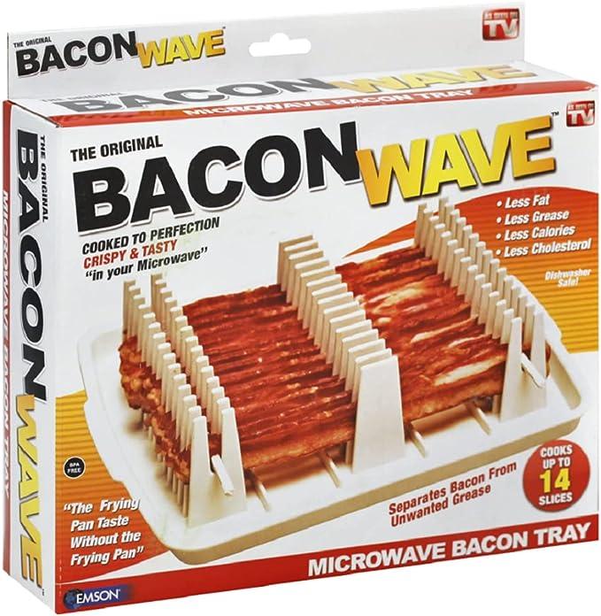 Emson Bacon Wave, Microwave Bacon Cooker - Remarkable Design