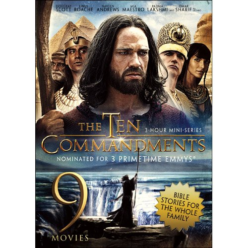The Ten Commandments / David & Goliath / Esther & The King / The Power Of The Resurrection / I Beheld His Glory / The Great Commandment / Joseph & His Brethren / Martin Luther / Hill Number One (9-Movie Bible Stories Collection)