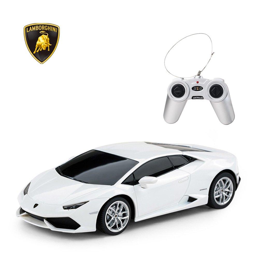 0908ec78b71b Amazon.com  RASTAR Lamborghini HURACÁN LP610-4 RC Car Radio Remote Control