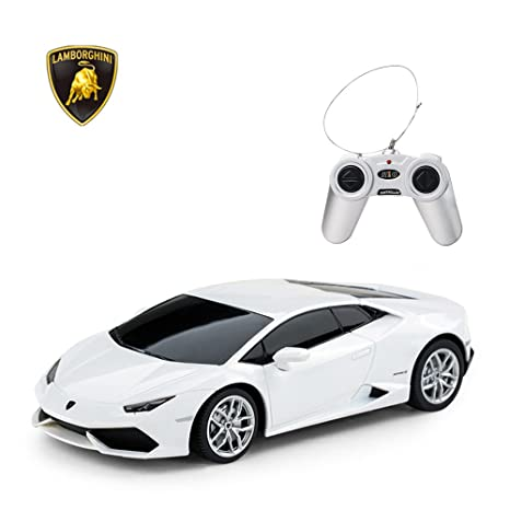 Amazon Com Rastar Lamborghini Huracan Lp610 4 Rc Car Radio Remote