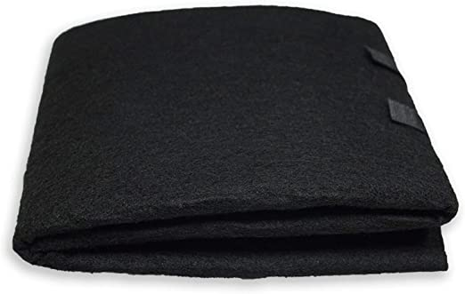 Carbon Pad Filter Charcoal Sheet Cut To Fit Odor Remover Room Air Purifiers New