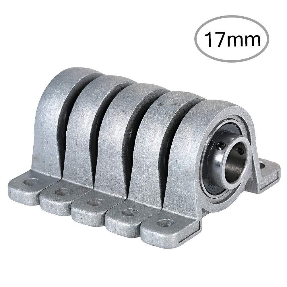 KKmoon Rodamiento en miniatura de soporte de para impresora 3D con asiento Rodamiento de bloque de cojinete Asiento Bloque de rodamiento de almohada para soporte,accesorios de impresora 3D