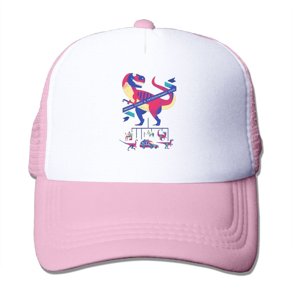 FeiTian T-Rex Available Baseball Caps For Kids Timeless Great For Activities Workout Visor Hat