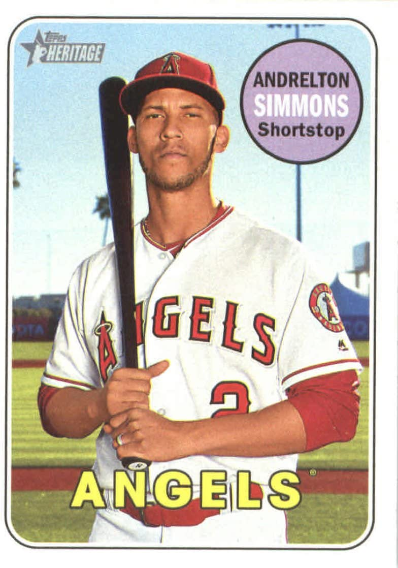 2019 Topps Opening Day #78 Andrelton Simmons Los Angeles Angels Baseball Card