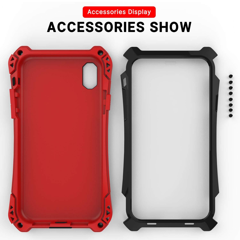 Amazon.com: Simicoo iPhone 9 Plus Neo Hybrid Aluminio Metal ...