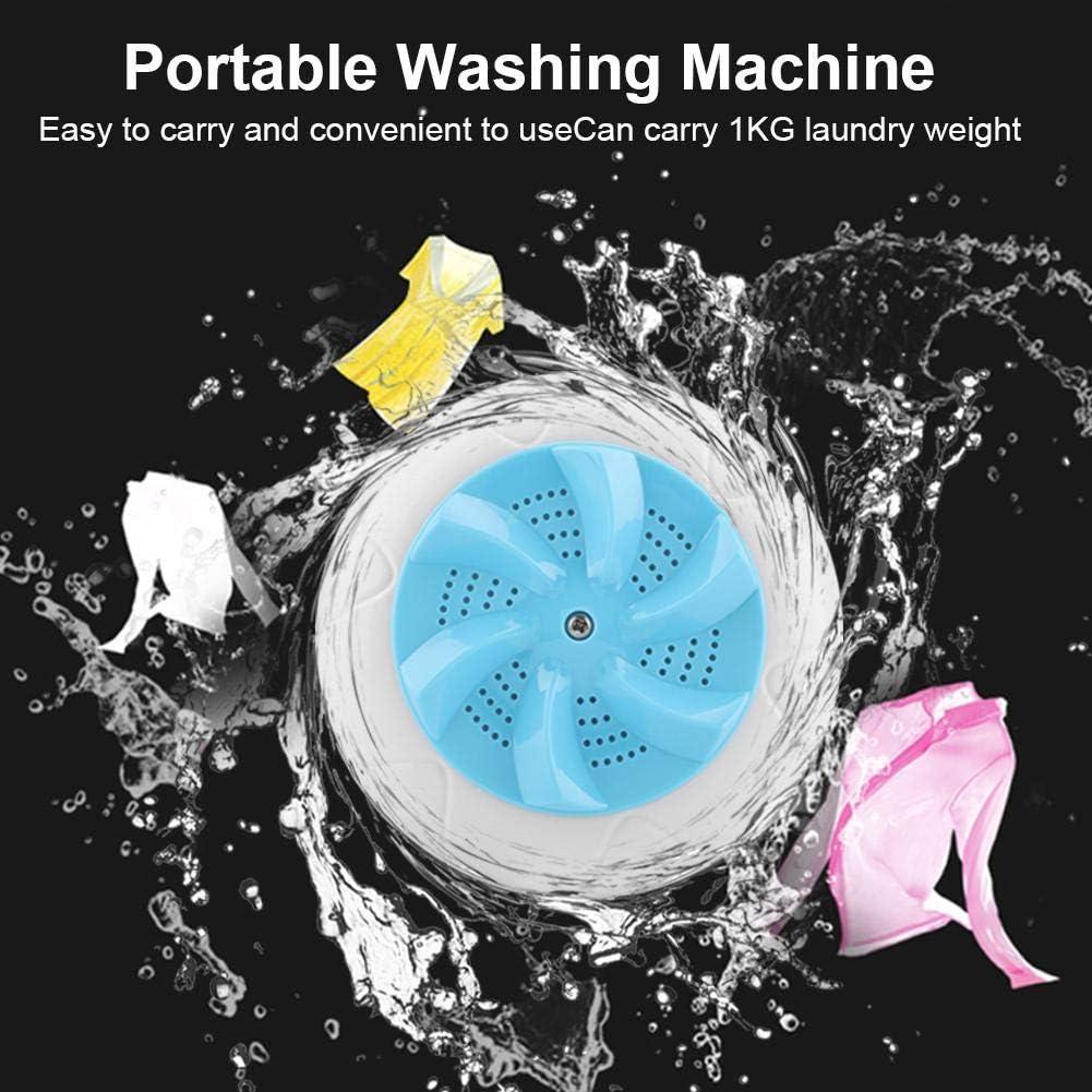 02 FTVOGUE Tragbare Mini-Ultraschall-Waschmaschinen-Reise-Waschmaschinen-Reiniger-Reinigungswerkzeug
