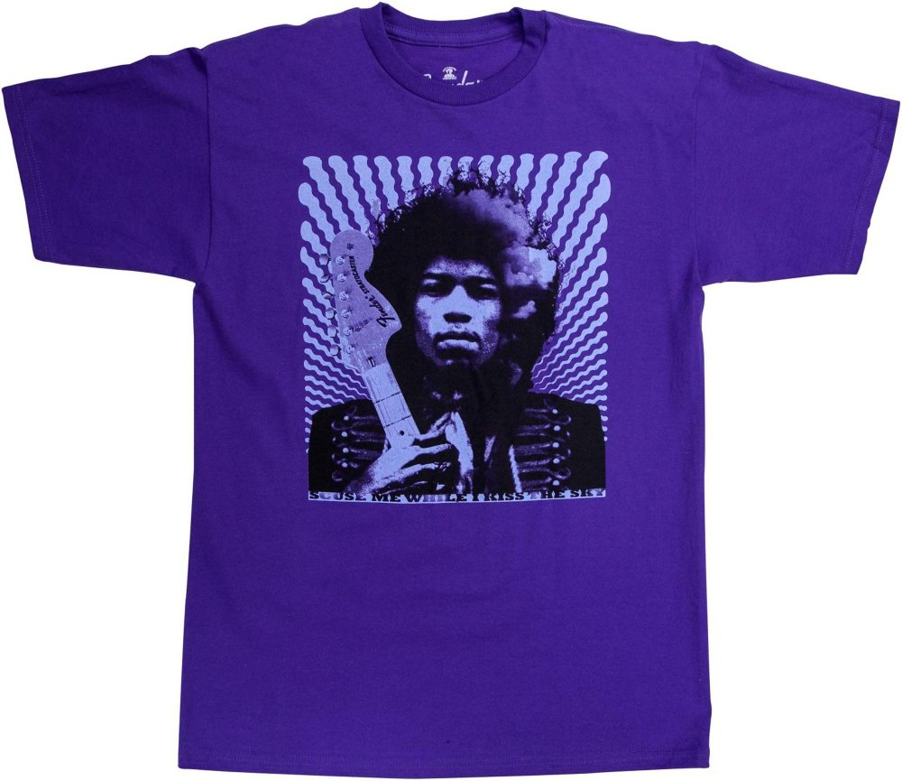 Fender Jimi Hendrix Kiss The Sky T Shirt 4049