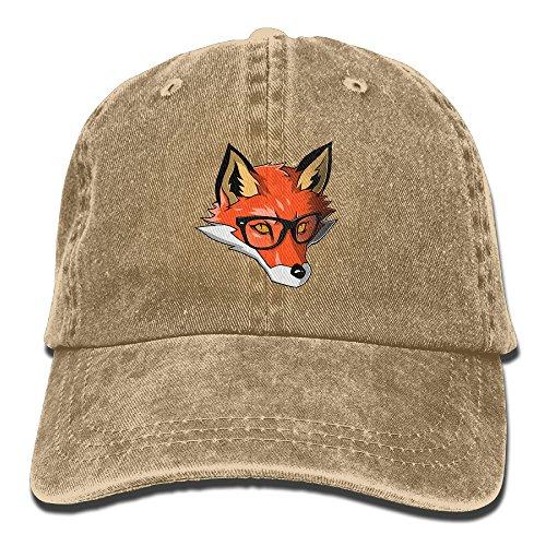 Sven Costume For Men (Sven's Fox Adult Adjustable Printing Cowboy Hat)