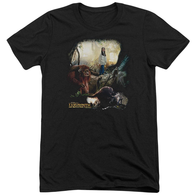 Labyrinth Men's Sarah - Ludo Tri-Blend T-Shirt