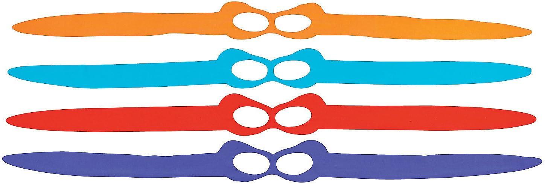 Fun Express Tie-On Superhero Ninja Masks (1 dozen) Apparel Accessories, Costume Accessories, Masks