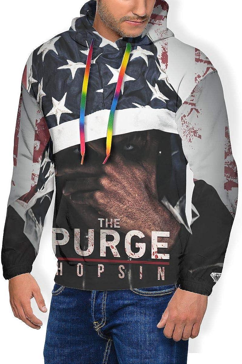 Hip Hop Sport Tops Hooded Plus Velvet Thick Sweatshirt for Mens Boys