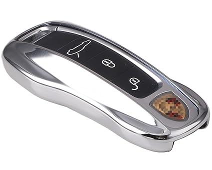 KAKTUS® Funda de protección para Llave de Coche Smart Key de Porsche Keyless Only