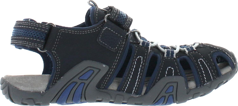Geox Boys Jr Sandal Kraze Water Friendly Protective Toe Outdoor Fashion Sandals