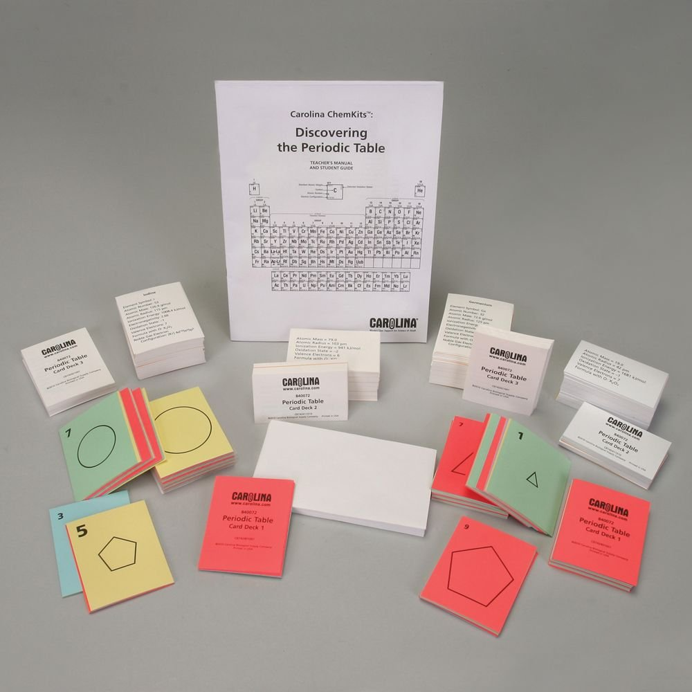 Carolina ChemKits: Discovering The Periodic Table Kit