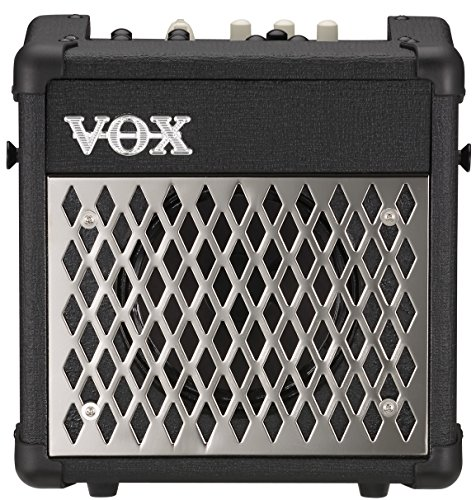 VOX Mini5 Rhythm Battery-Powered 5W Modeling Amplifier with Rhythm, Black ()