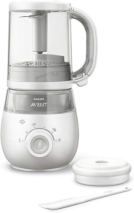 Philips Avent Procesador de alimentos para bebés, 4 en 1: Amazon.es: Bebé