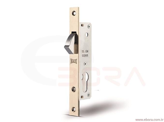 Kale kilit 201 - 20 gancho cerrojo bloqueo deslizante para puerta/lock caso para cerradura de cilindro: Amazon.es: Bricolaje y herramientas