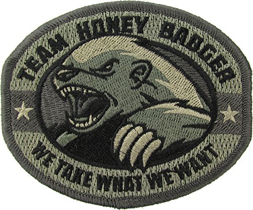 Extreme Sports Appliques (Honey Badger Morale Patch (ACU DIGITAL))