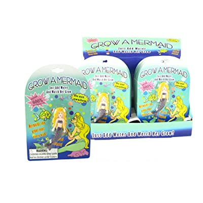 Grow A Mermaid - Expands 600% in Water!: Toys & Games