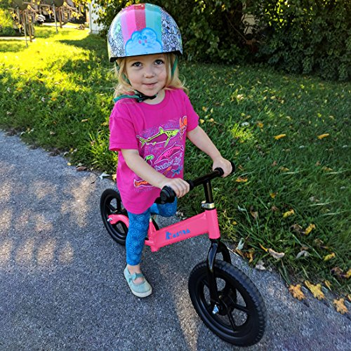 Maxtra Lightweight Balance Bike Safety Designed No Pedal Training Bicycle with Adjustable Seat and Handlebar For Ages 2 to 5 Years by Maxtra (Image #3)
