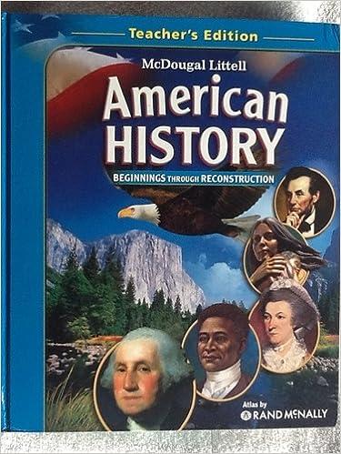MCDOUGAL LITTELL AMERICAN HISTORY DOWNLOAD