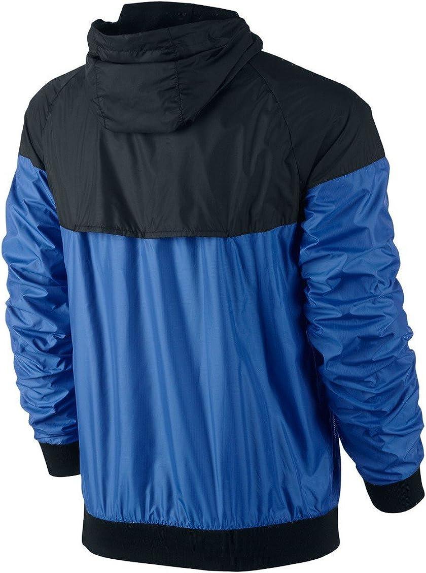 Nike Herren Jacke Windrunner, blau schwarz, XL, 544119 402