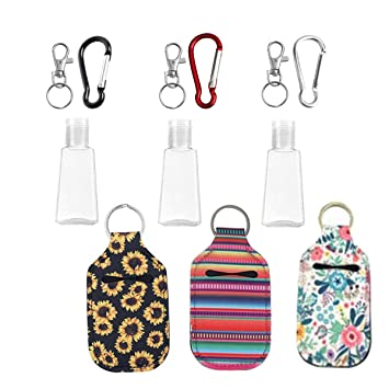 Key chain hand sanitizer holders custom gifts sanitizer holders stocking stuffers sanitizer holders gifts clip sanitizer