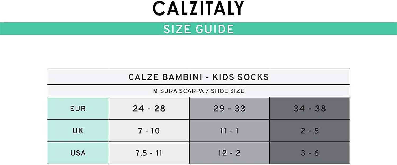 Soletta Abs Calzini Con Disegno Bottoni Taglia Da 24 A 38 | CALZITALY Calzino Cotone Antiscivolo Blu Fuxia /& Rosa