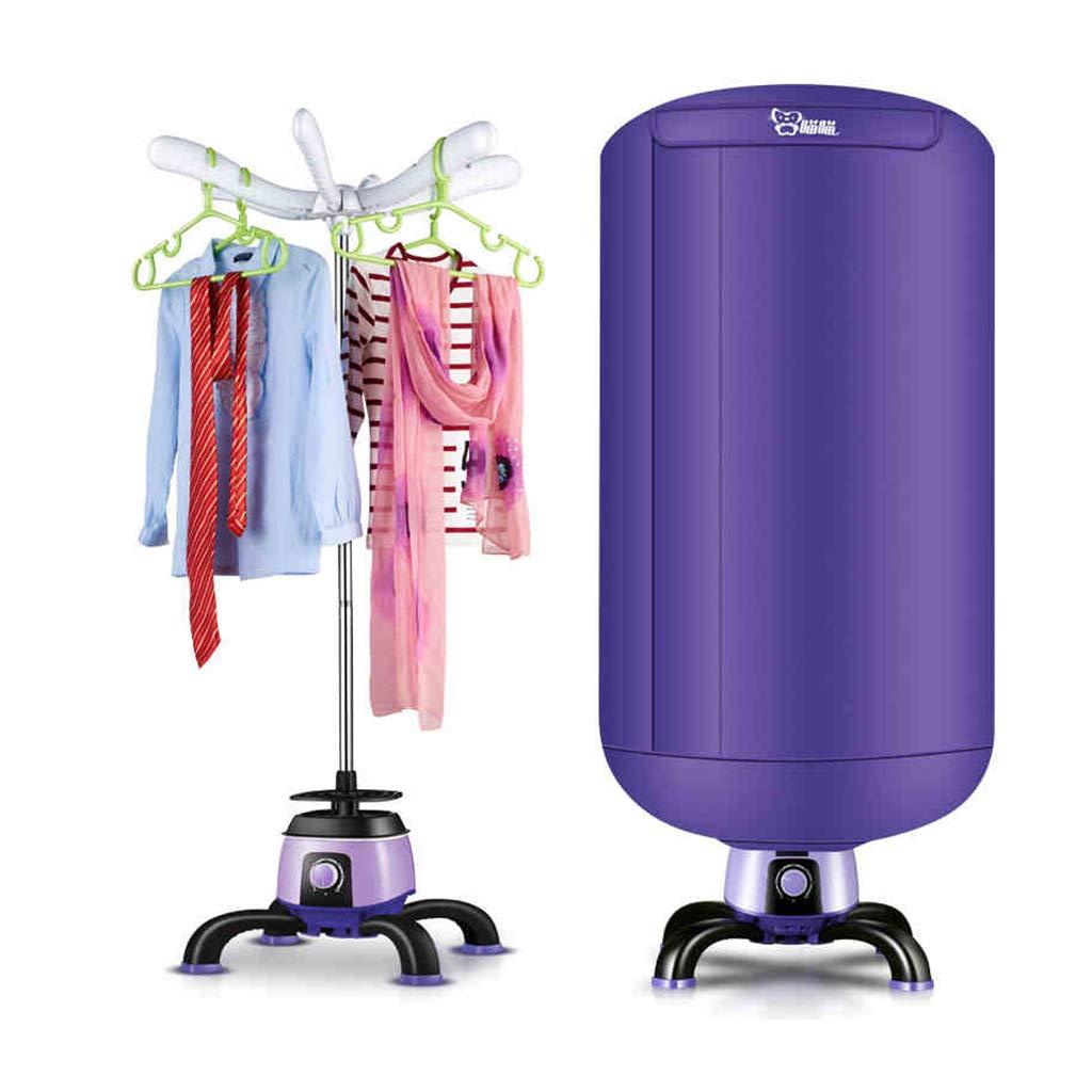 衣類乾燥機 - 900W家庭用速乾性乾燥機33 LB省エネラウンドベビー折りたたみ式乾燥機、スペースヒータータイマー付き、簡単な設置 /& B07KN2J9CN