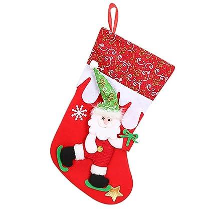 Bolsas navideñas de Cinnamou, Papá Noel, muñeco de nieve ...