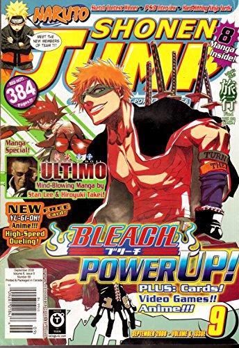 Shonen Jump Magazine September 2008 (Vol. 6, Issue 9, No. 69)