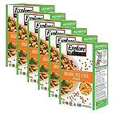 Explore Cuisine Pulse Pasta USDA Organic Red Lentil Penne Certified Kosher 8oz - 6 pack