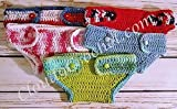 2 Button Baby Diaper Covers or Bloomers. Great gift for baby shower or your bundle of joy