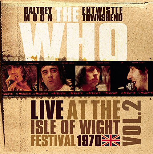 Vinilo : The Who - Live At The Isle Of Wight Vol 2 (Colored Vinyl, White, 140 Gram Vinyl, United Kingdom - Import)