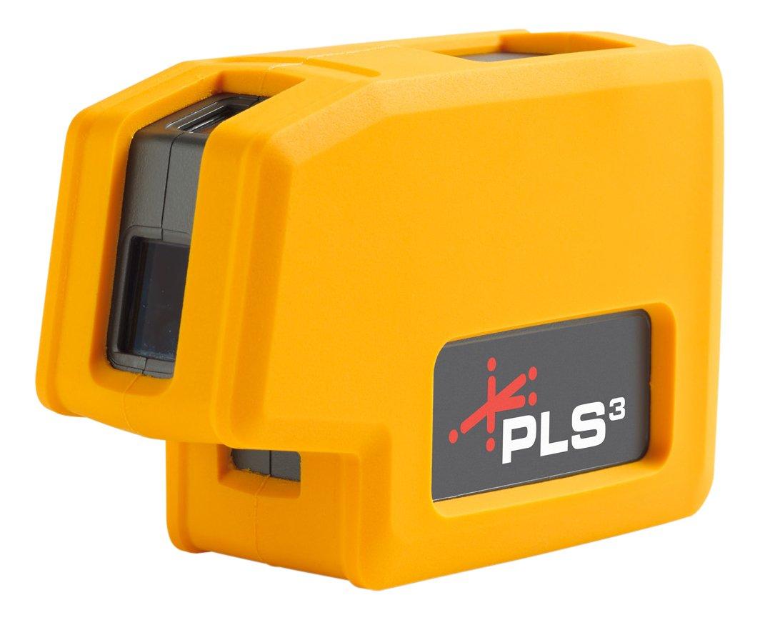 Nuevo nivel láser de haz rojo de 3 puntos PLS3 PLS-60523N de Pacific Laser Systems