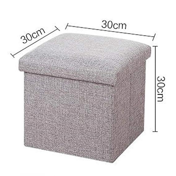 Amazon.com: GSJJ - Taburete pequeño de almacenamiento ...