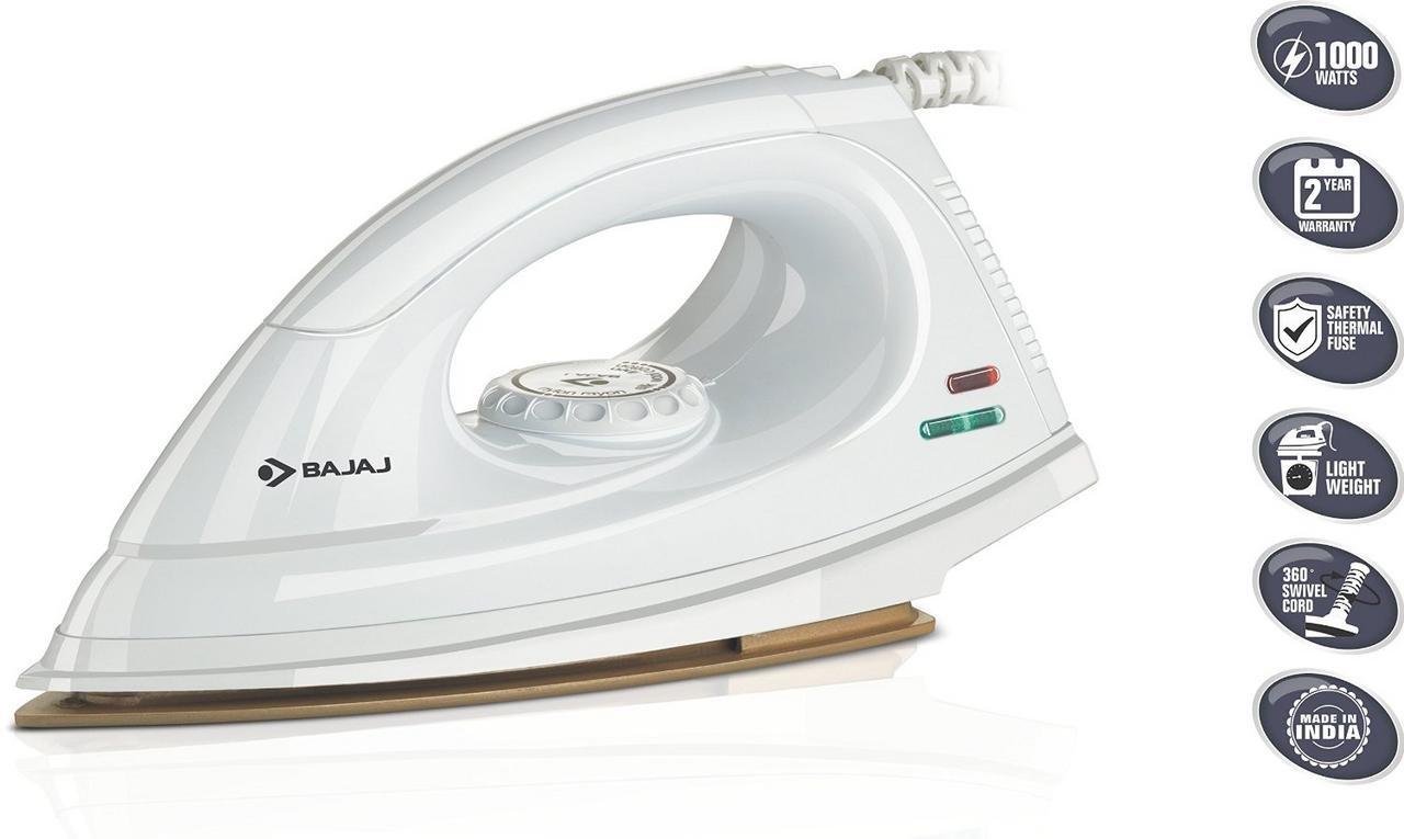 Bajaj Majesty DX-9 1000W Dry Iron