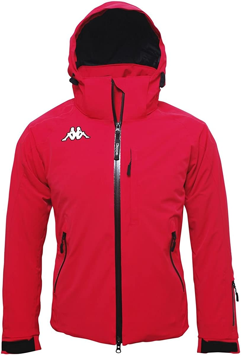 Seminare includere arachidi  Giubbotto Kappa 6cento 650 250 - Red XL: Amazon.it: Sport e tempo libero
