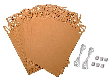 Amazon.com: Penta Angel - Banderines de 1 a 12 meses, diseño ...