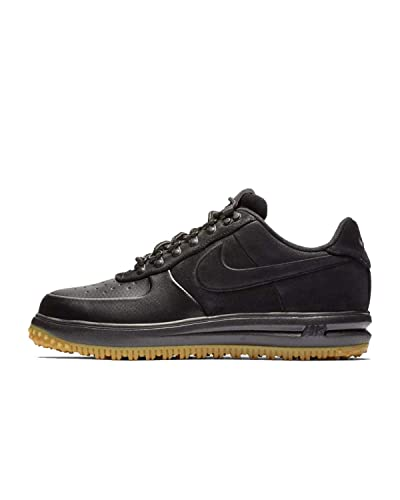 wholesale dealer ef8e7 76660 Nike Mens Air Force LF1 Duckboot Low Black Anthracite Gum Light Brown AA1125 -