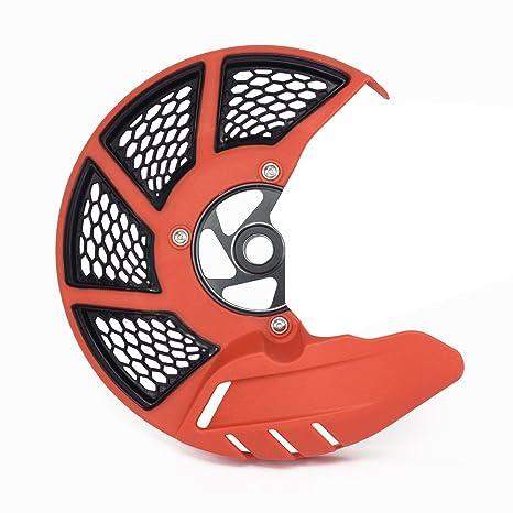 JFG RACING Funda protectora para disco de freno delantero de motocicleta KTM 125-530 SX