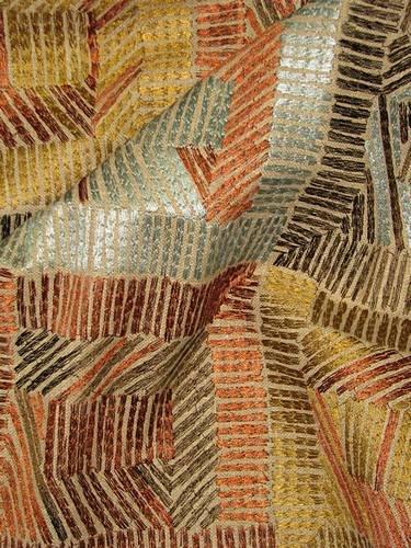 - Ellen DeGeneres Autry Embroidery Raisin Home Decorator Fabric
