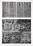 1925 Print Renaissance Carved Panels Convent Toledo Museum Paris France Decorate - Original Halftone Print
