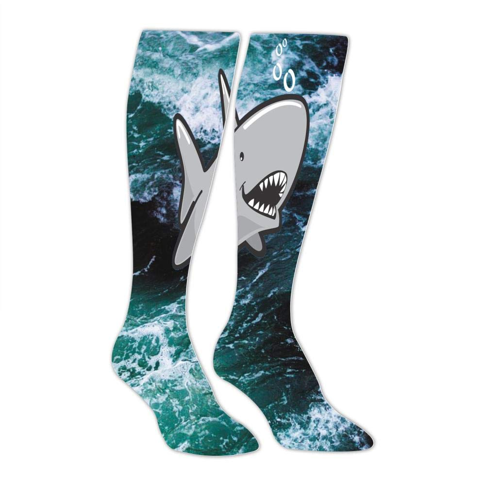 Leisure Fashion and Interesting Socks Mens Cute Shark Socks Sports