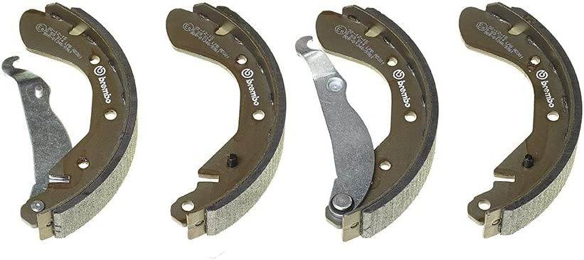 Vauxhall Corsa Rear Brake Shoe Set Delphi LS1621 200 x 29mm 91158363