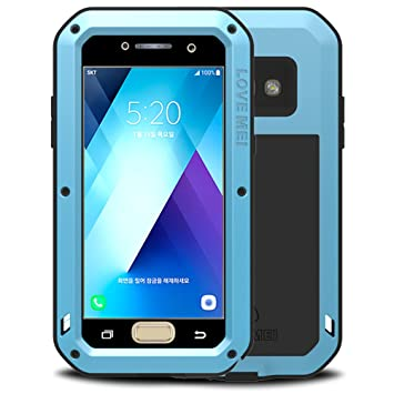 detailed look ded65 12a85 HICASER Galaxy A5 2017 Waterproof Case, Shockproof Snowproof Dustproof  Durable Aluminum Metal Gorilla Heavy Duty Full-body Protection Case Cover  for ...