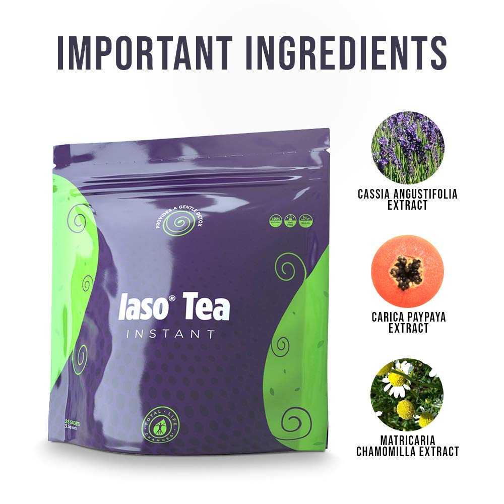 TLC Total Life Changes IASO Natural Detox Instant Herbal Tea (50 Sachets) Packaging May Vary Between Old & New in 201 by Total Life Changes (Image #6)